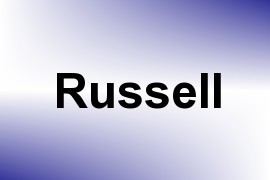 Russell name image