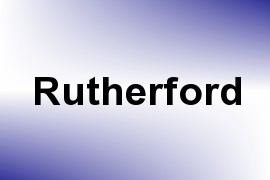 Rutherford name image