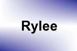 Rylee name image