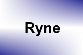 Ryne name image