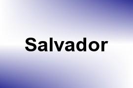 Salvador name image