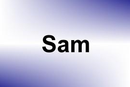 Sam name image