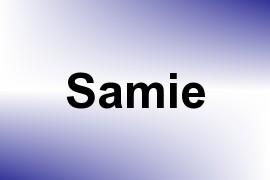 Samie name image