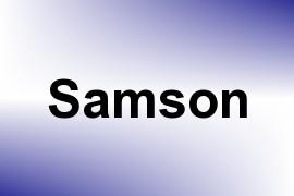 Samson name image