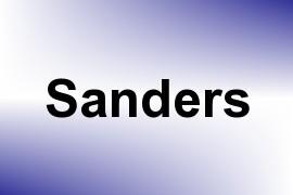 Sanders name image