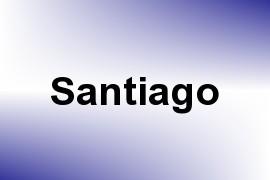 Santiago name image