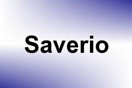 Saverio name image