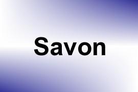 Savon name image