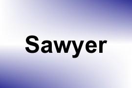 Sawyer name image