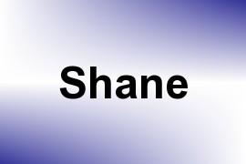 Shane name image