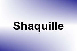 Shaquille name image