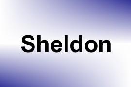 Sheldon name image