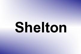 Shelton name image