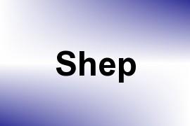 Shep name image
