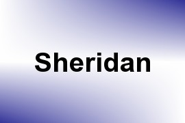 Sheridan name image
