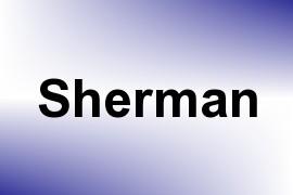 Sherman name image