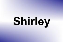 Shirley name image