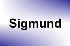 Sigmund name image