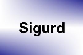 Sigurd name image