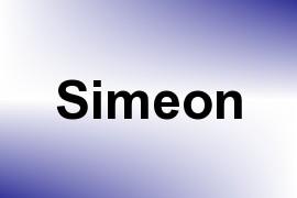 Simeon name image