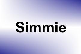 Simmie name image