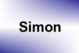 Simon name image