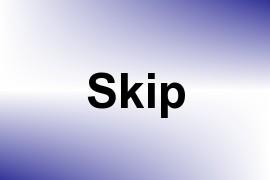 Skip name image