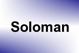 Soloman name image