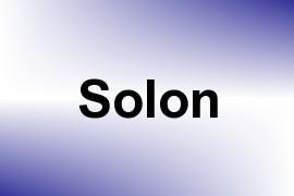 Solon name image