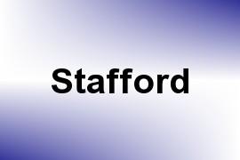 Stafford name image