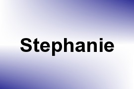Stephanie name image