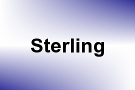 Sterling name image
