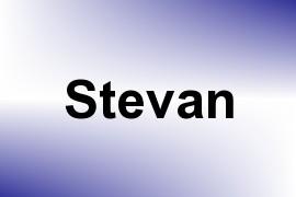 Stevan name image