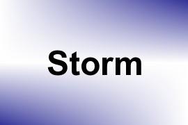 Storm name image