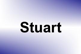 Stuart name image