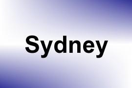 Sydney name image