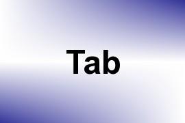 Tab name image