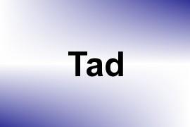 Tad name image