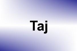 Taj name image