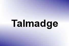Talmadge name image