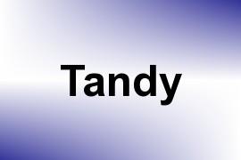 Tandy name image