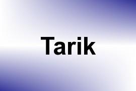 Tarik name image