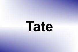 Tate name image