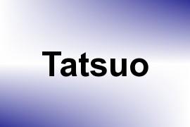 Tatsuo name image