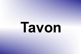 Tavon name image