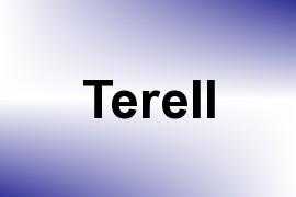 Terell name image