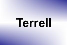 Terrell name image