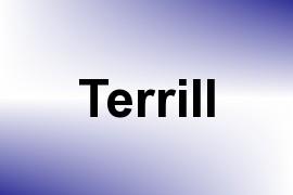Terrill name image