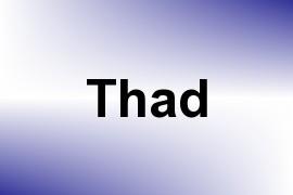 Thad name image