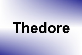 Thedore name image